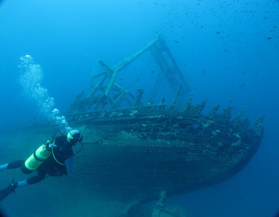 wreck diver sdi